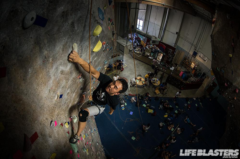 Indoor Climbing Wallpaper