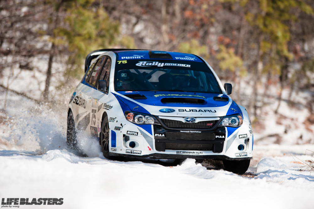 Rally America Round 2: The 100 Acre Wood Rally