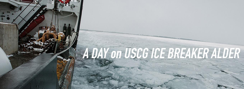 A Day on Coast Guard Ice Breaker Alder