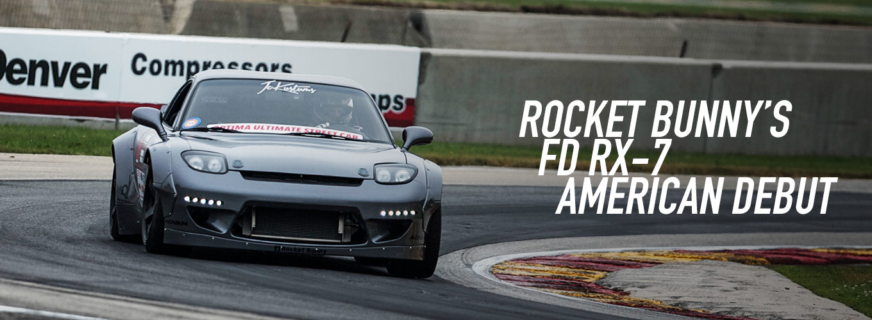 Rocket Bunny's FD RX-7 American Debut
