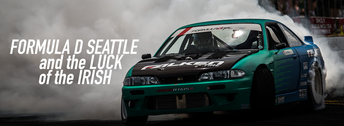 Formula D Seattle and the Luck of the Irish