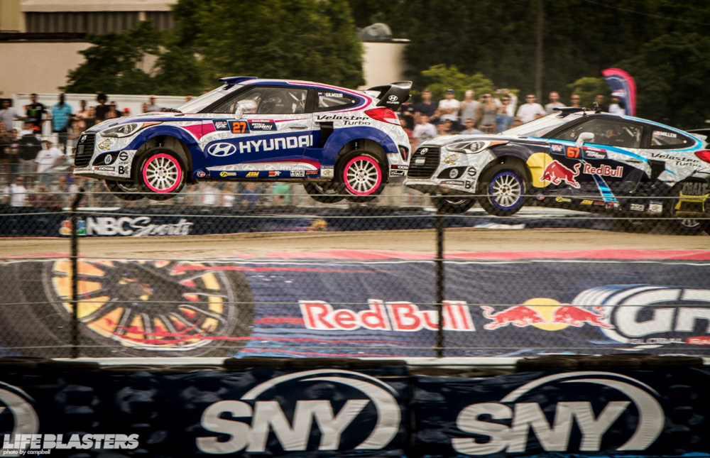 grc global rallycross nassau new york tanner foust ken block