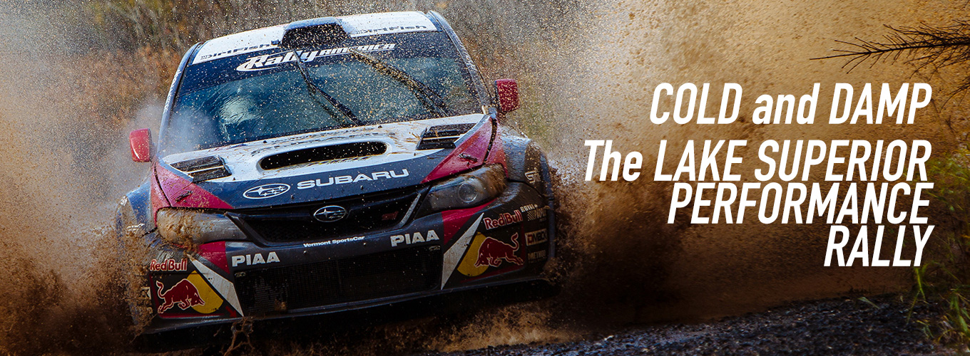 Cold and Damp: The Lake Superior Performance Rally