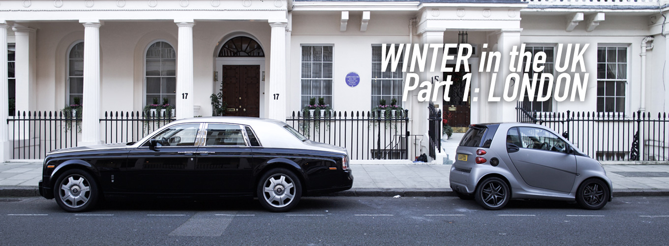 Winter in the UK Part 1: London