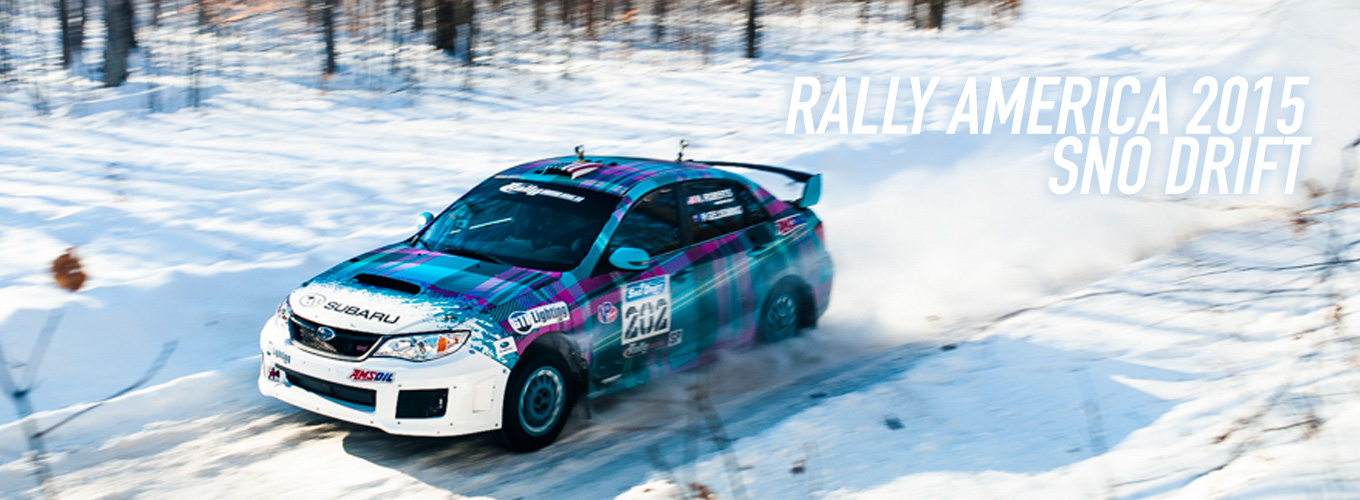 Rally America 2015: Sno Drift
