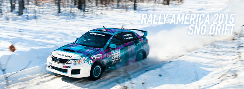 Rally America 2015: Sno Drift