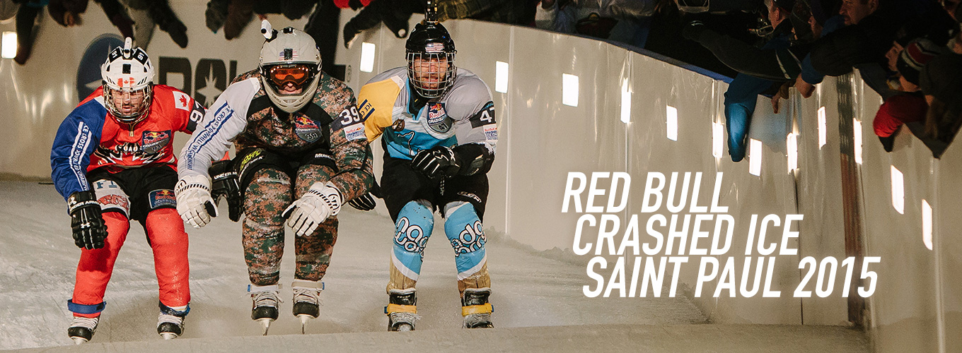 Red Bull Crashed Ice Saint Paul 2015